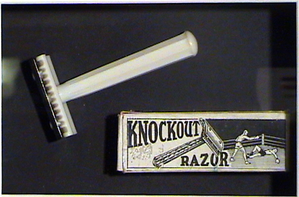Vintage Visual From Retonthenet Barber Shaving Knockout